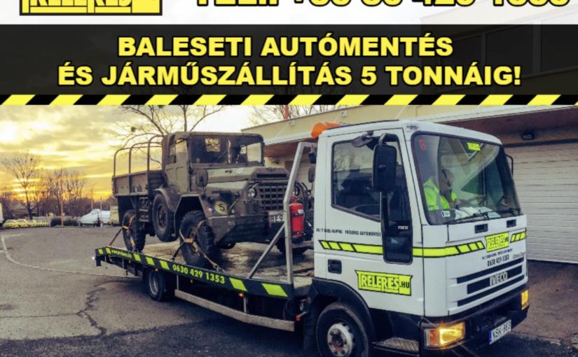 Darus autómentés, furgonmentés Budapest!